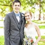 Britt, Roberts exchange vows