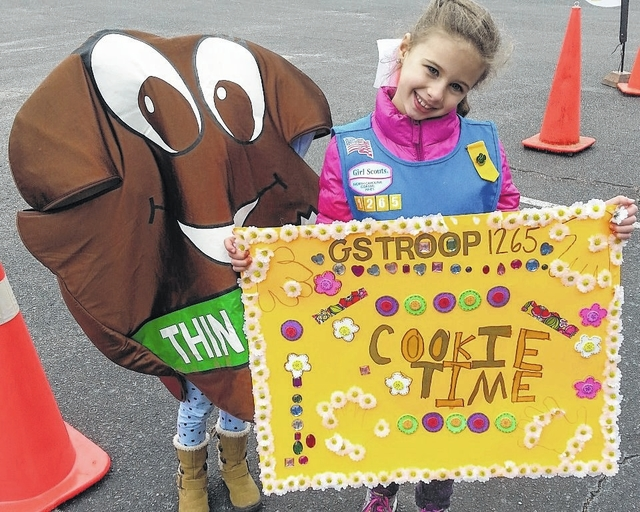 sampson independent girl scout cookie sale kicks off