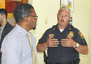 Edwards named police chief