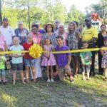 Garland celebrates ceremony for Curtis D. Cain Memorial Park
