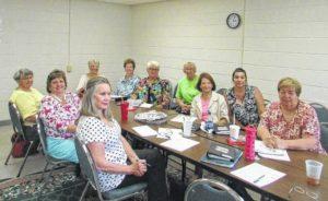 Clinton Garden Club planning committee meets