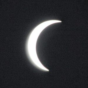 Eclipse over Sampson