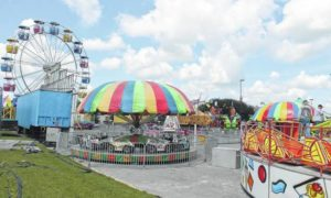 Fair in Clinton sets up shop for five-day stretch