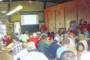 Sampson County hosts Sweet Potato Field Day